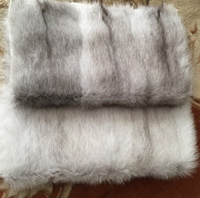 2017/2018 Wholesale Natural Real Fox Belly Scraps Fur Skins Plate for Jacket&Parka Inner Linned&Garment with Factory Price