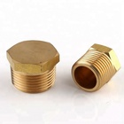 BSPT Brass Hpb59-1 Male End Drain Plug Fittings for Plumbing with High Pressure