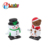 2017 new funny small snow man wind up toy parts from guangdong
