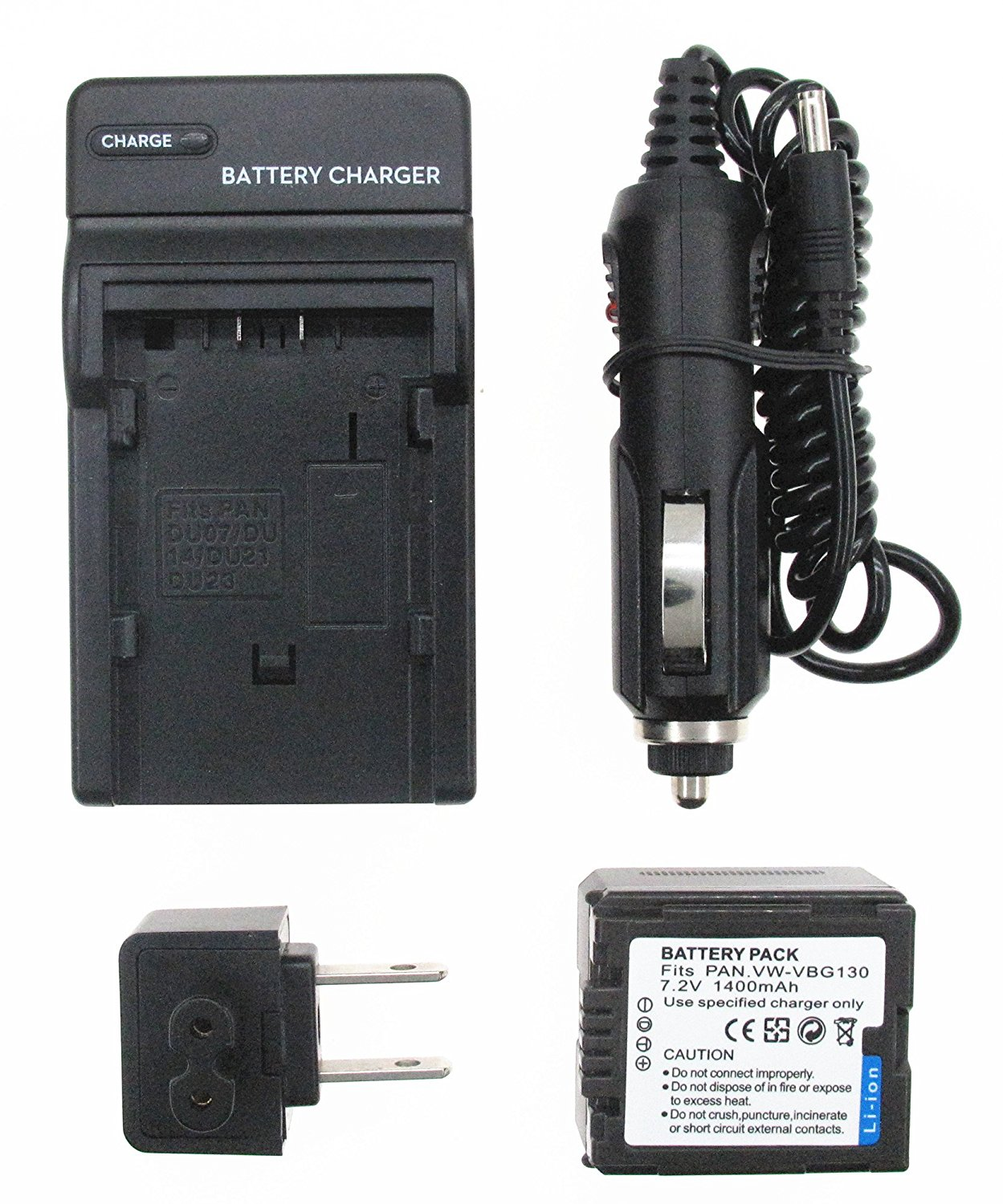 SDR-H80S Camcorder Battery Charger for Panasonic SDR-H80A,SDR-H80K SDR-H80R