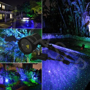 elf laser lights/outdoor christmas laser lights/laser projector