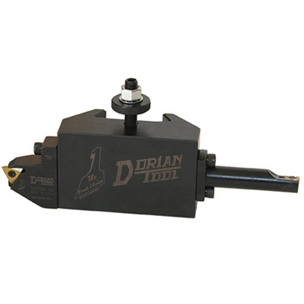Dorian Tool D881 Chromium Molybdenum Alloy Steel Quick Change OD and ID Threading Toolholder with External On Edge Insert Cartridge for SDN35CXA Super Quick Change Tool Post 1-1//2 Height 5-7//64 Width