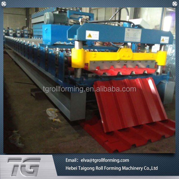 Hot Sale Automatic iron sheet roll forming line