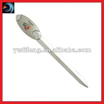 Canada Maple Leaf Design Metal Sword Letter Opener