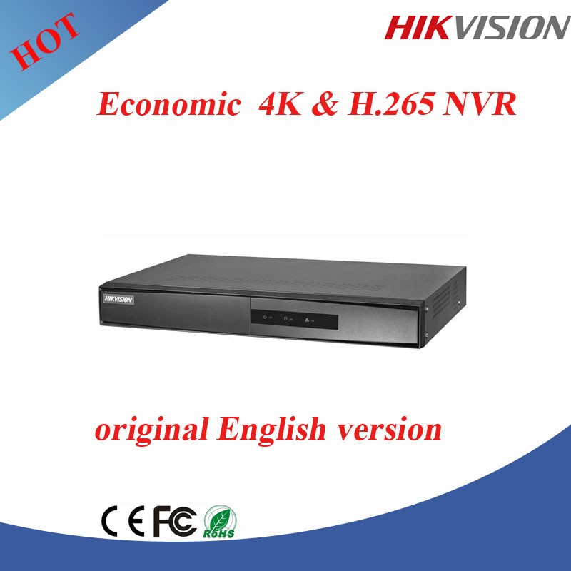 DS-7604NI-K1 Original Overseas Version Hikvision 4K NVR Network Video Recorder