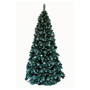Wholesale Artificial PVC Christmas Tree with LED light Christmas Tree set with Decorative berry Merry Christmas
