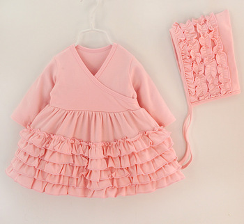 P0180 baby girl clothes sale clearance sweet bow dress baby girl lace rompers