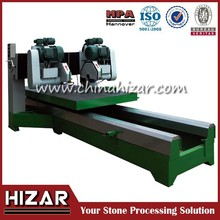 Hizar stone slab cutting machine for granite slab edge cutting