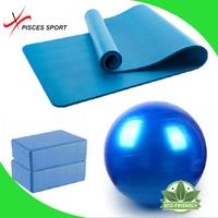 Pisces High quality Wholesale eco friendly yoga mats, gym ball, yoga brick kit