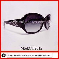 acetate brand name quality female fashion sunglasses 2012