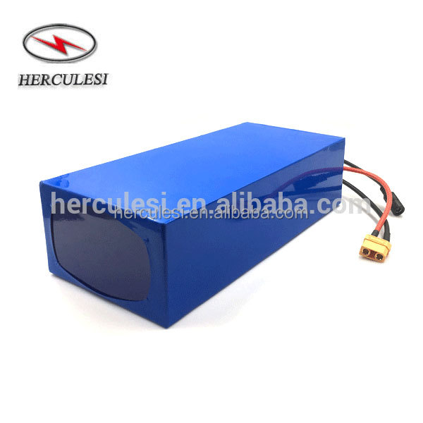 Rechargeable 36 Volt Lithium Ion Battery Pack 36V 10Ah For Electric Bicycle