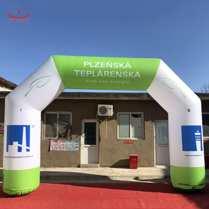 6 m wide durable Inflatable Arches Lightweight Alternative with custom printing
