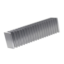 Custom Made Industrial Grade Aluminum Extruded Heat Sink Tube