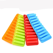BPA free Silicone Water stick Ice cube tray mold