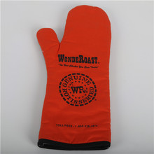 Ribbed Design and Cotton with Polyester,Cotton Material Oven Mitt customized