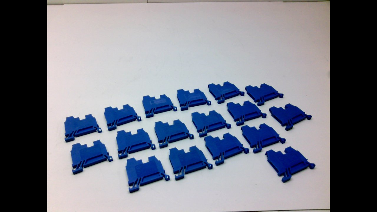 Allen Bradley 1492-W4tw - Blue - - Pack Of 17 - Terminal Blocks, 1492-W4tw - Blue - - Pack Of 17 -