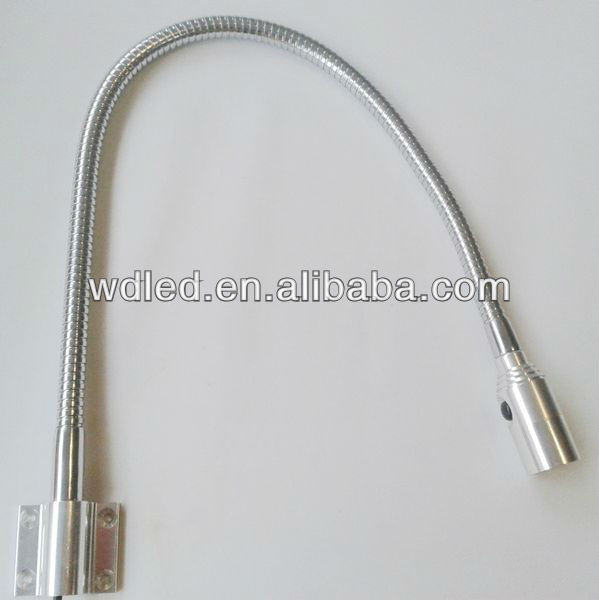 1W Gooseneck Swing Arm for wall lamp