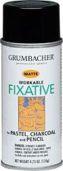 Grumbacher 646 4-3/4-Ounce Workable Fixative Spray Can