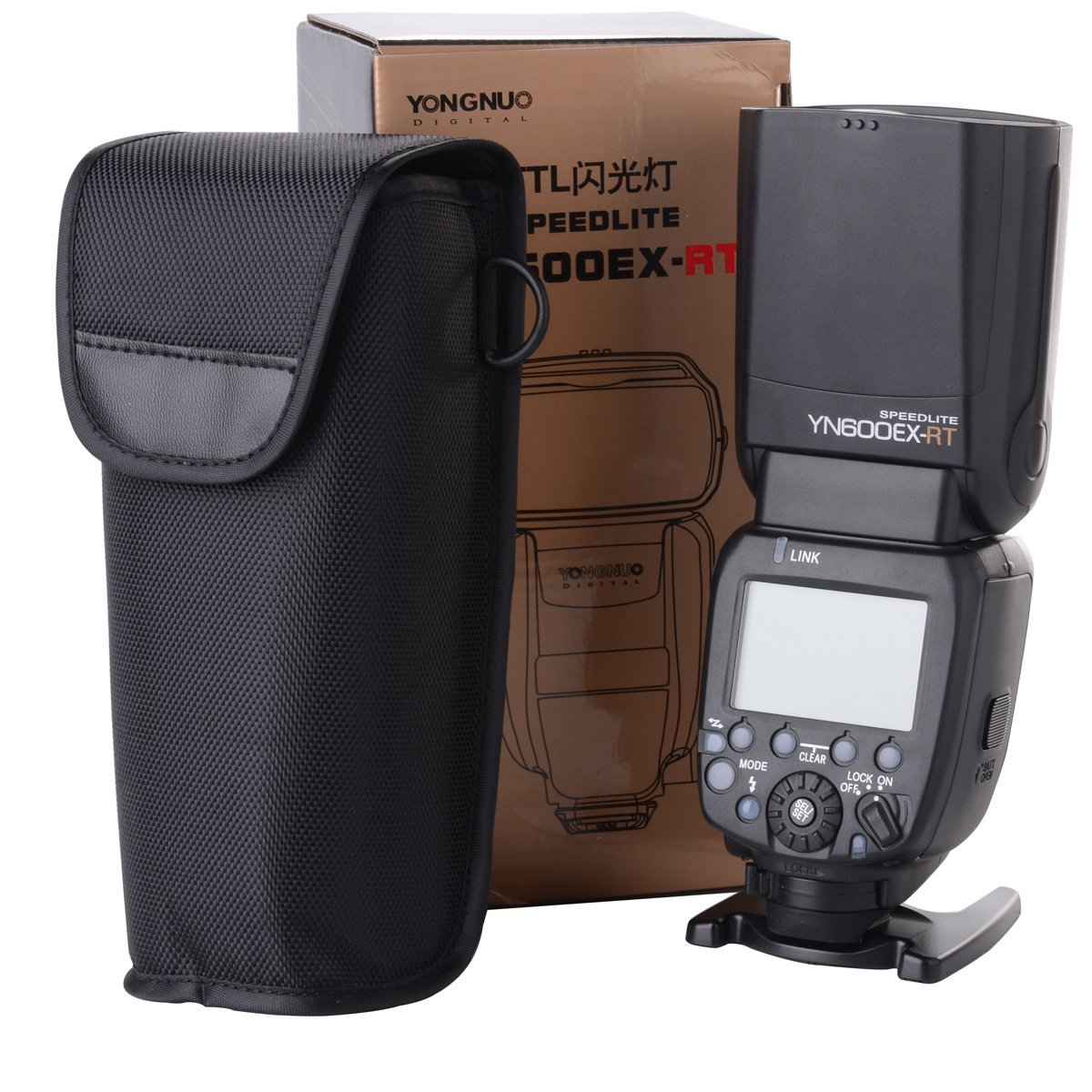 Yongnuo YN600EX-RT TTL Radio Slave Flash Speedlite for Canon 5D III 6D 7D YN-E3-RT LF630