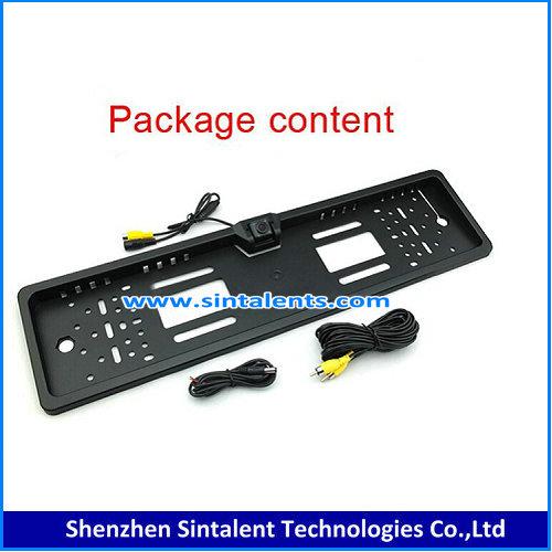 American car license plate rearview camera, waterproof IP68