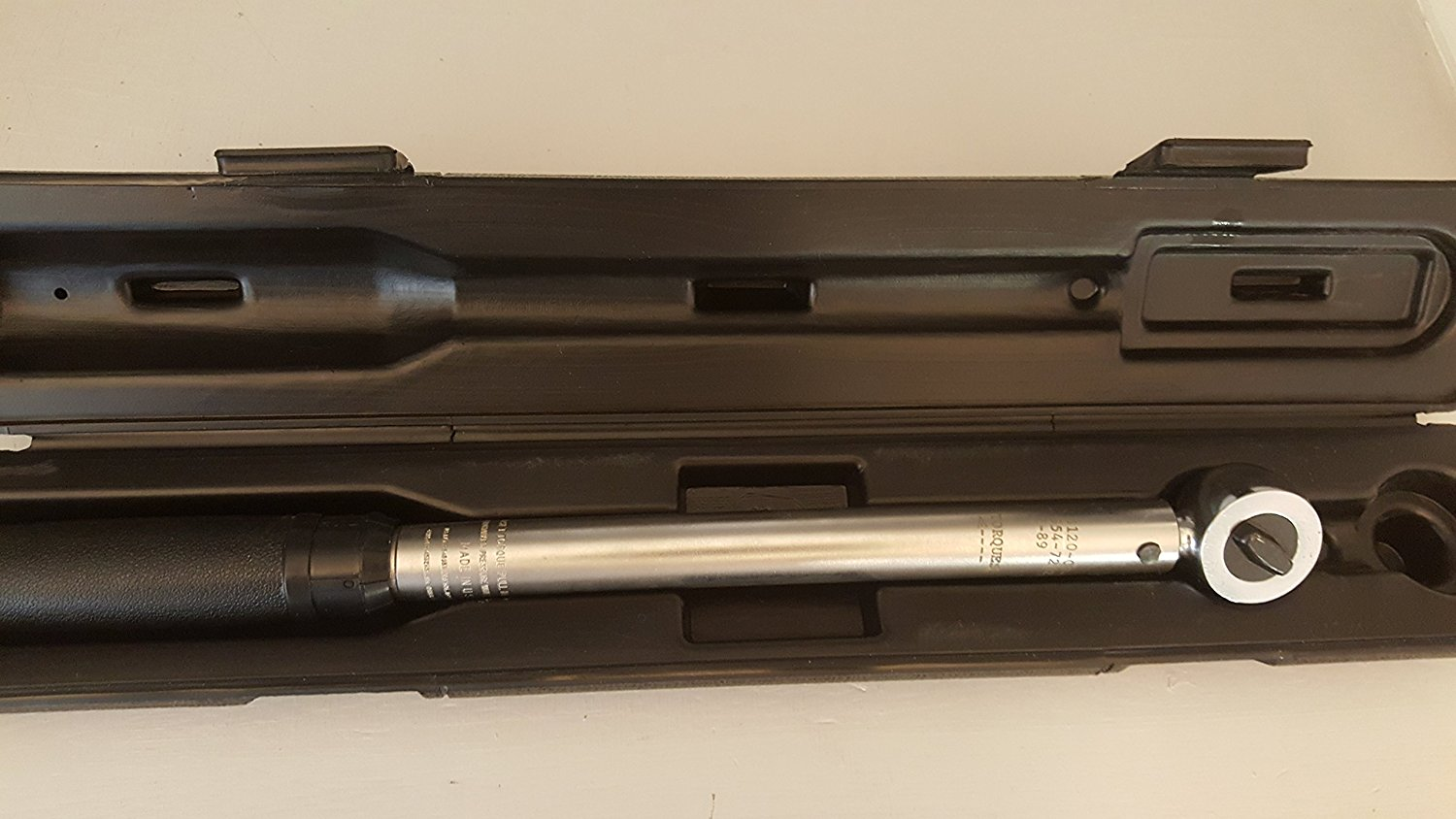Micro Adjustable Torque Wrench, 3/8 inch, USA, CDI, 752MFR, 10-75 foot lbs.