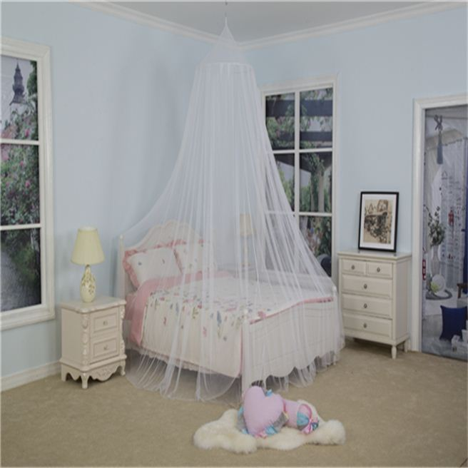 new product 100% polyester king size bed mosquito net whopes