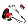 New Technology 2 Stroke Petrol Engine Hand Rotary Garden Farm Machine Backpack Mini Power Weeder