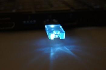 Key Chain Thumb Drive Heart Shaped Crystal Usb Pendrives Led ...