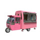 New arrival Mobile dining bus /electric fast food vending car for hot sale