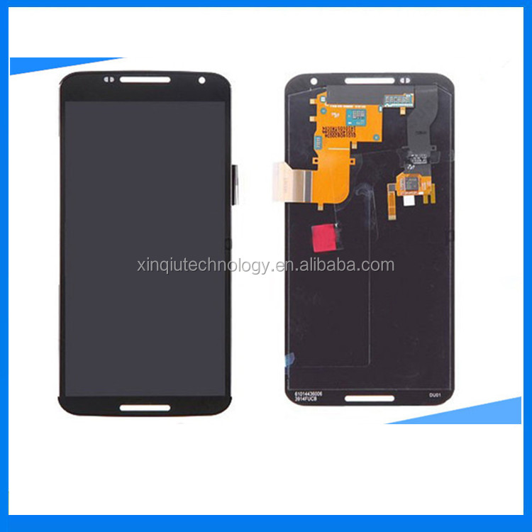 100% OEM For Motorola <strong>Google</strong> Nexus 6 XT1100 XT1103 <strong>LCD</strong> Touch Screen with Digitizer Assembly Free Shipping