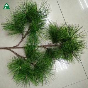 Plastic OEM/ODM artifical pine tree branches for decoration