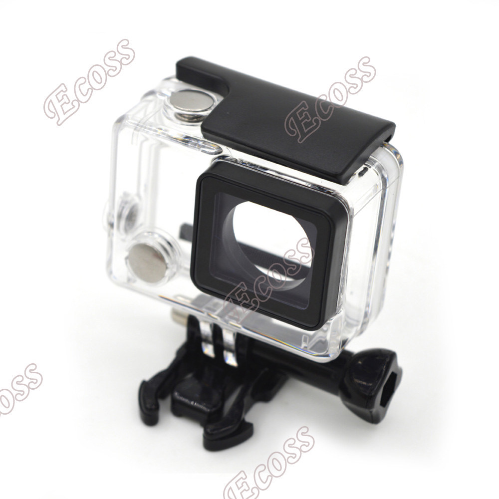 Accessories Gopro Waterproof Housing Case For Gopro Hero 3+ Hero 4 Standard Underwater Protective Case w/Lens For Gopro 4 3+