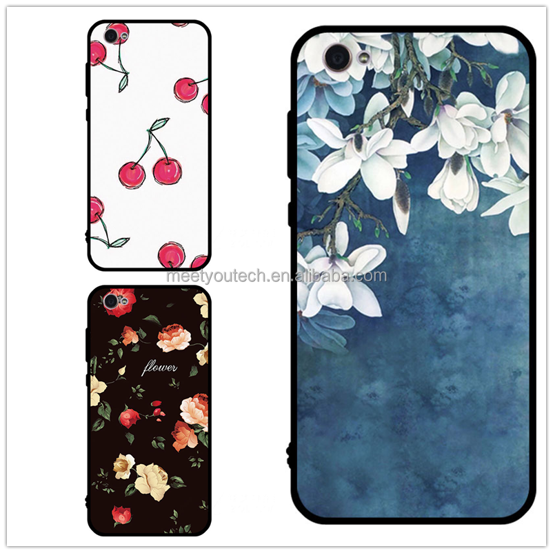 Customize design black phone case cover cell faceplates covers