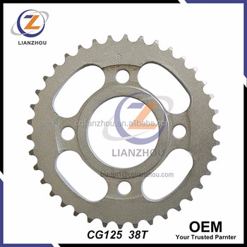 Oem Cg125 Chain Sprocket And For Honda Motorcycle Spare Parts ...