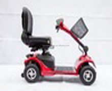 4wheel mobility,folding handicapped electric motor scooter with China supplier
