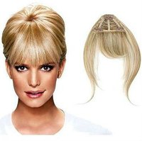 clip in human hair bangs fringe
