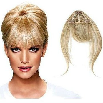 Clip In Human Hair Bangs Fringe