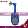 Electric Cast Iron Knife Gate Valve