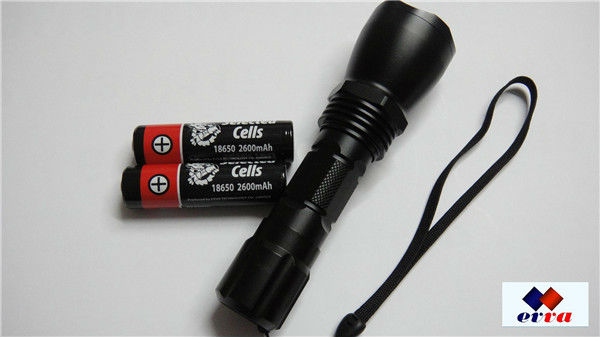 Lithium ion Rechargeable Protected 18650 Flashlight/Torch Battery