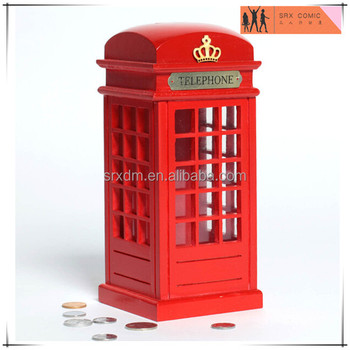 Design Vintage Bank.Vintage Red Telephone Booth Shaped Coin Bank Money Box Custom Design Money Saving Eating Box Coins Bank Factory Buy Custom Coin Bank Factory Oem