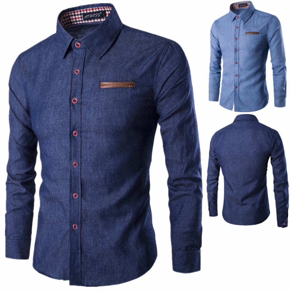 6aabf39dc7 China Custom Denim Shirt