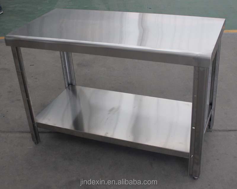 Industrielle table de cuisine table de travail en acier for Equipement de restaurant montreal