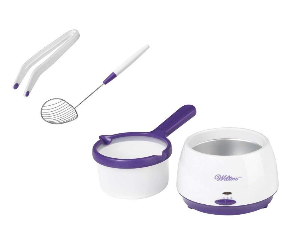 Wilton Candy Melting Pot, Dipping Tong and Scoop Bundle