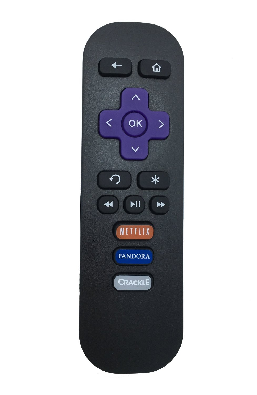 Vinabty New Replaced REMOTE fit for Roku LT Streaming Media Player 2450D 2710X 2710R 2500R 2700R 2450X 2500X