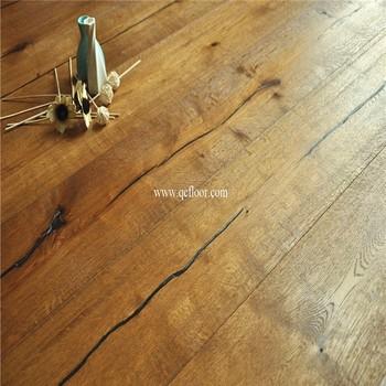 Rustic Wood Wax Oiled Prefinished Hardwood Flooring