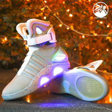 sports Led Light shoes USB Charging LED Flashing high top sneakers