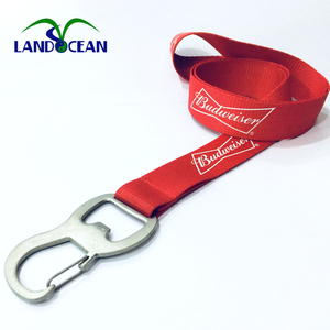 China Wholesale Beer Bottle Opener Lanyard / Lanyard With Beer Opener