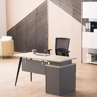 Standard Sizes Office Workstation Furniture Small Size Staff Computer desk