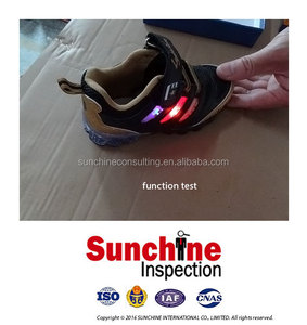 China Inspection Services / LED Light Up Shoes Quality Control Inspection Service / Product Testing and Inspection