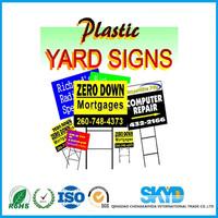 Advertising board PP corrugated plastic sheet manufacturer